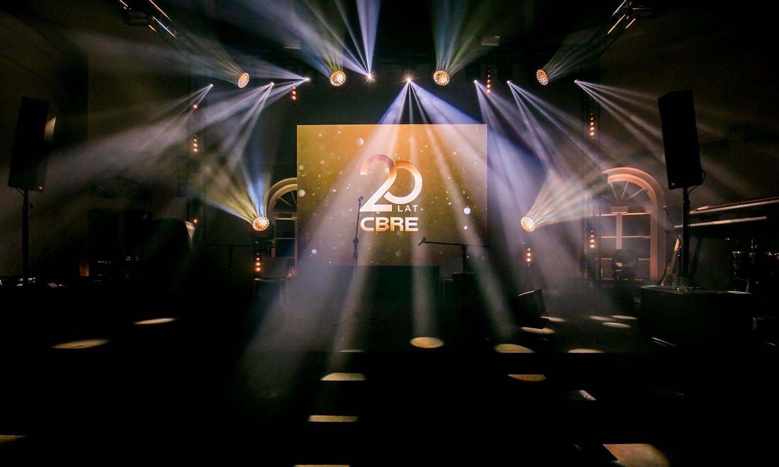 20-lecie CBRE 2019 Brill AV Media