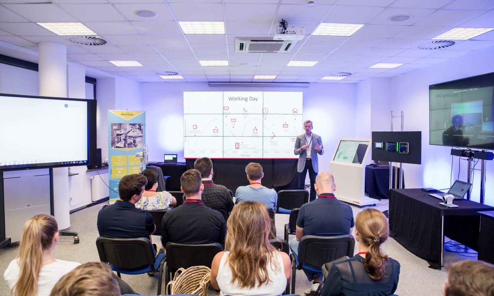 Warsztaty Brill AV Media 2019 Rozwiązania AV dla nowoczesnego biura