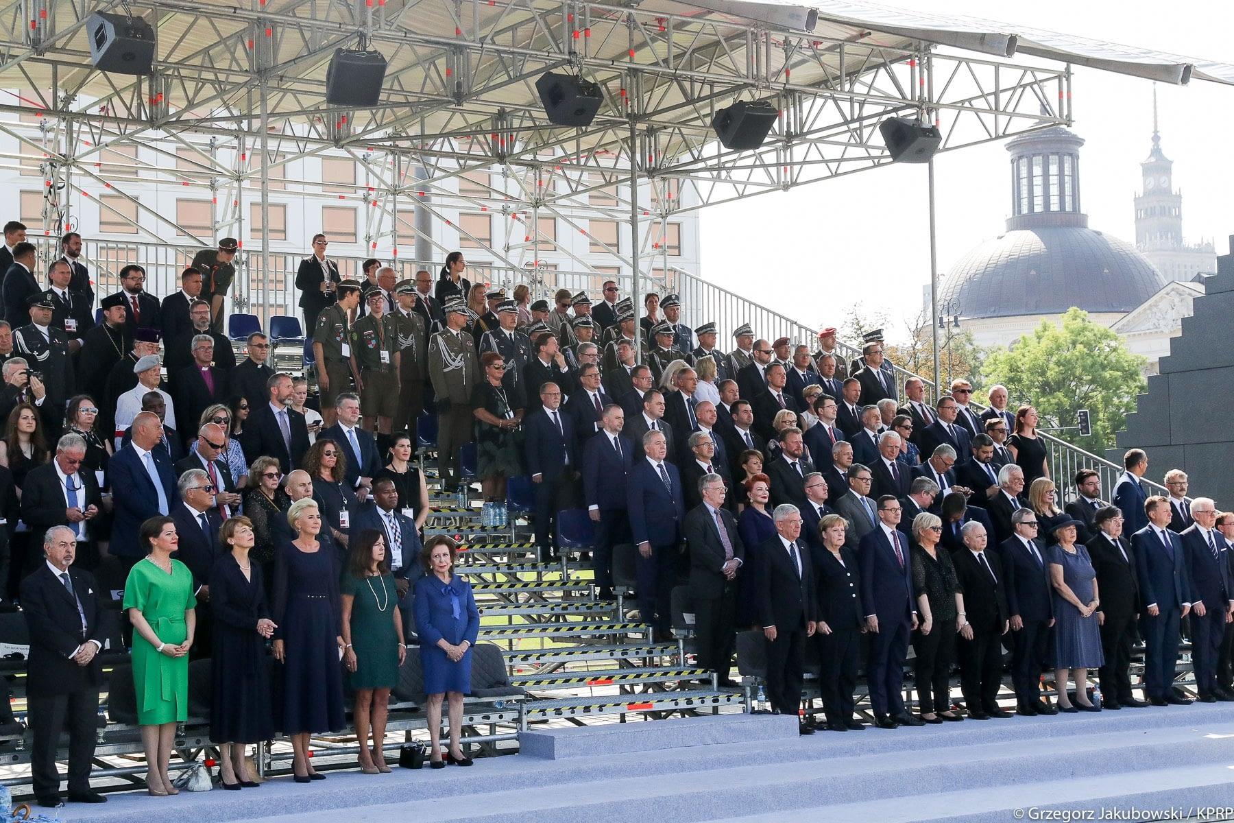 Obchody 80. rocznicy wybuchu II Wojny Swiatowej Brill AV Media