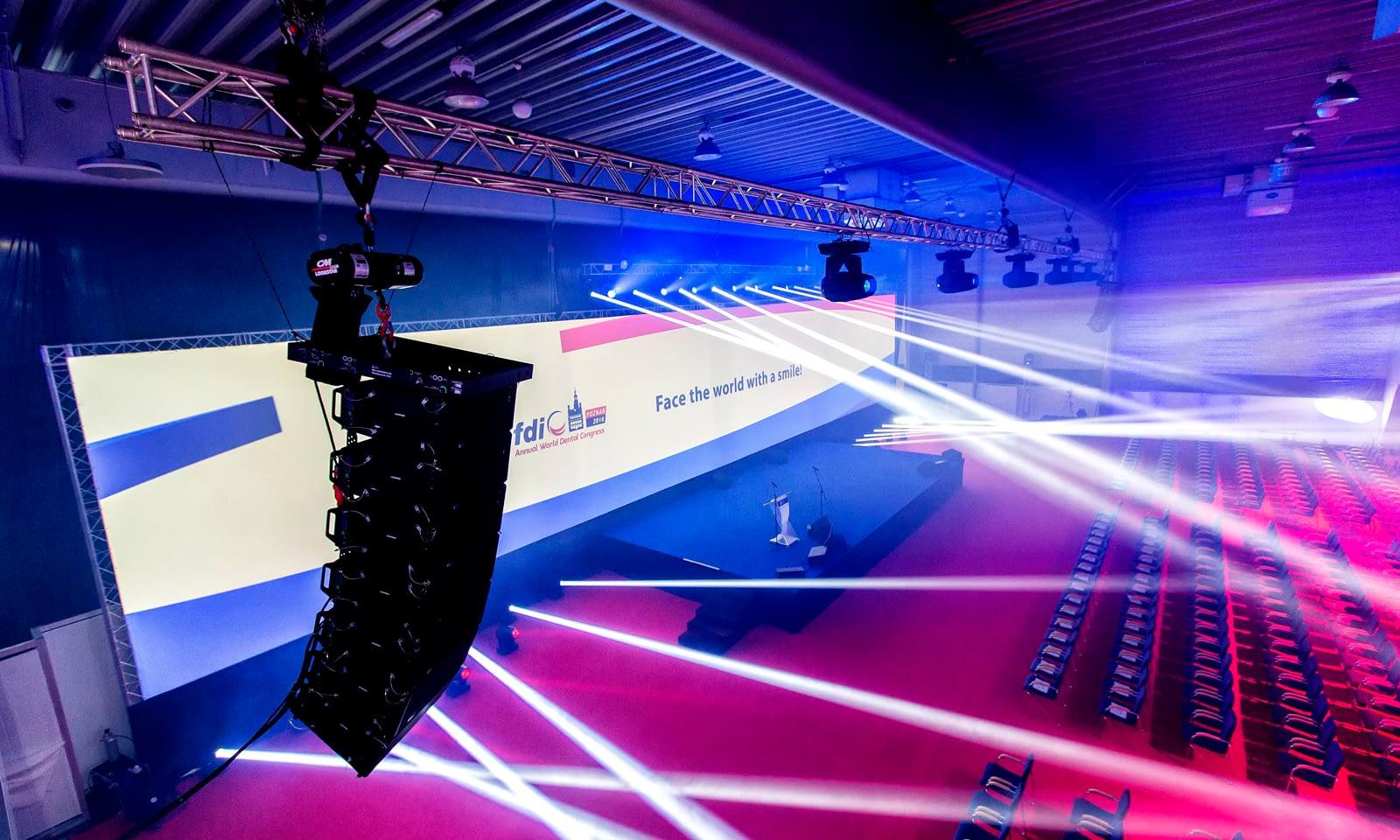 Doroczny Światowy Kongres Stomatologiczny FDI - realizacja Brill AV Media