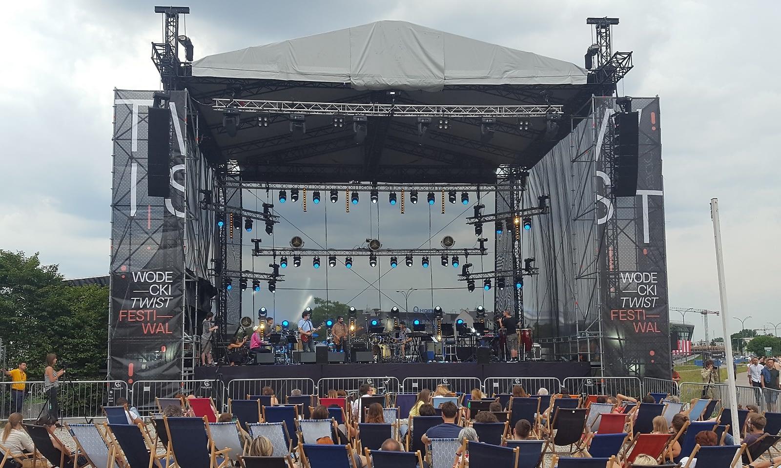Wodecki Twist Festival obsługa techniczna Brill AV Media