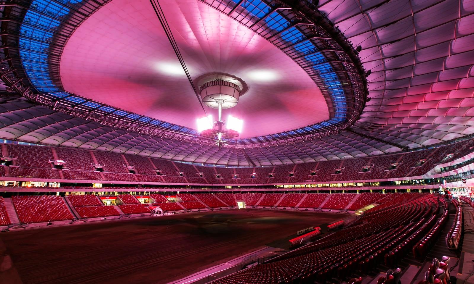 Brill AV Media stałym dostawcą usług AVL (audio, video, light) PGE Narodowy Stadion