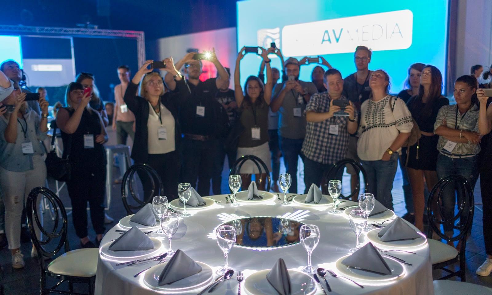Warsztaty Brill AV Media Technologie eventowe od kuchni 2018