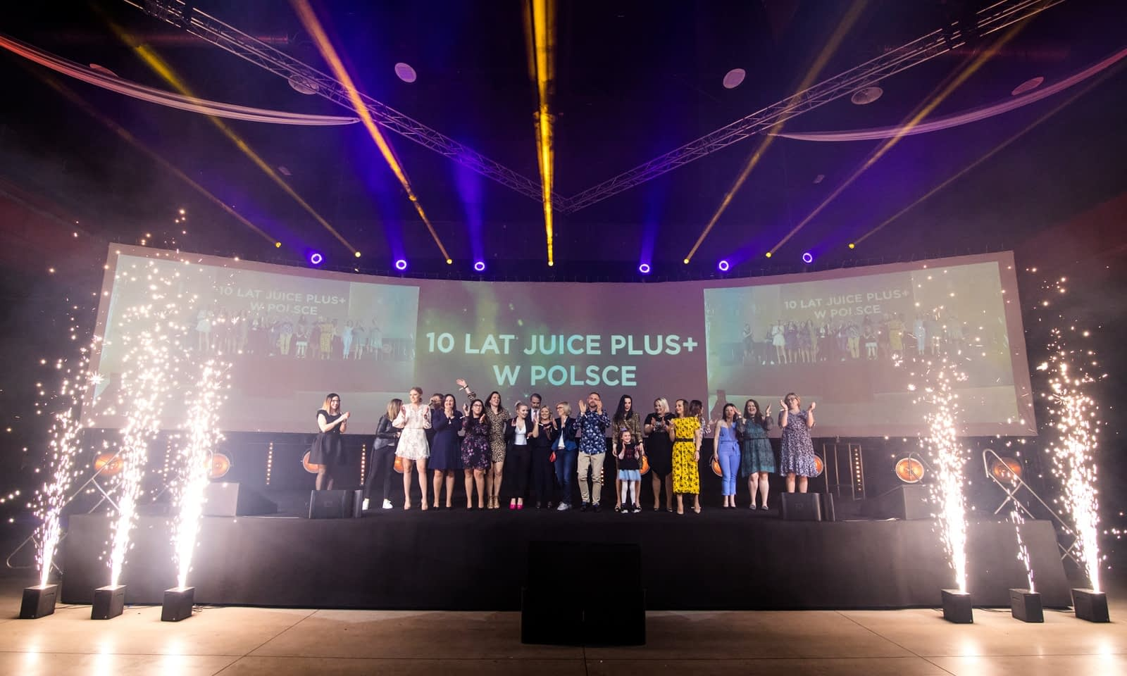 10 lat Juice Plus w Polsce Brill AV Media