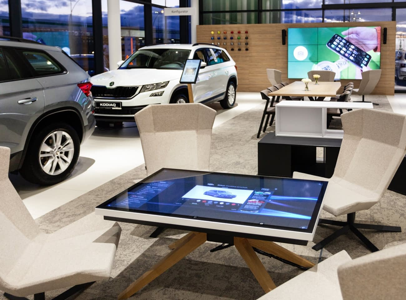 Digital Showroom Skoda Motorpol Wrocław