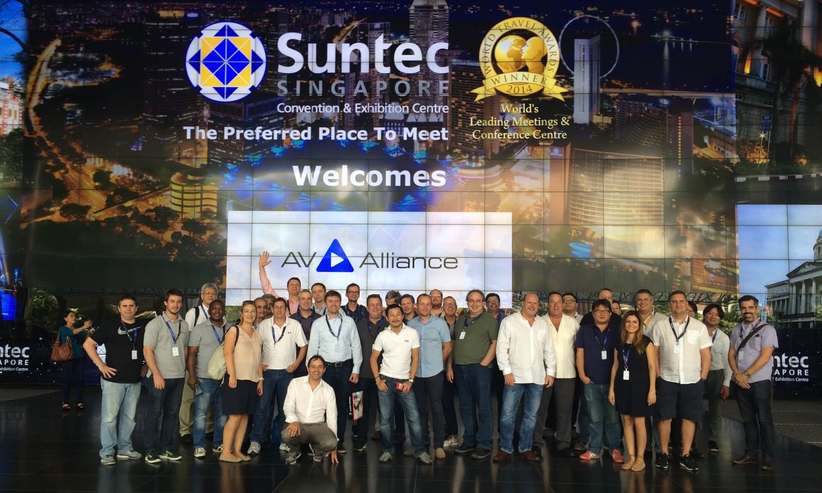 Brill AV Media zaprezentowała się w Singapurze
