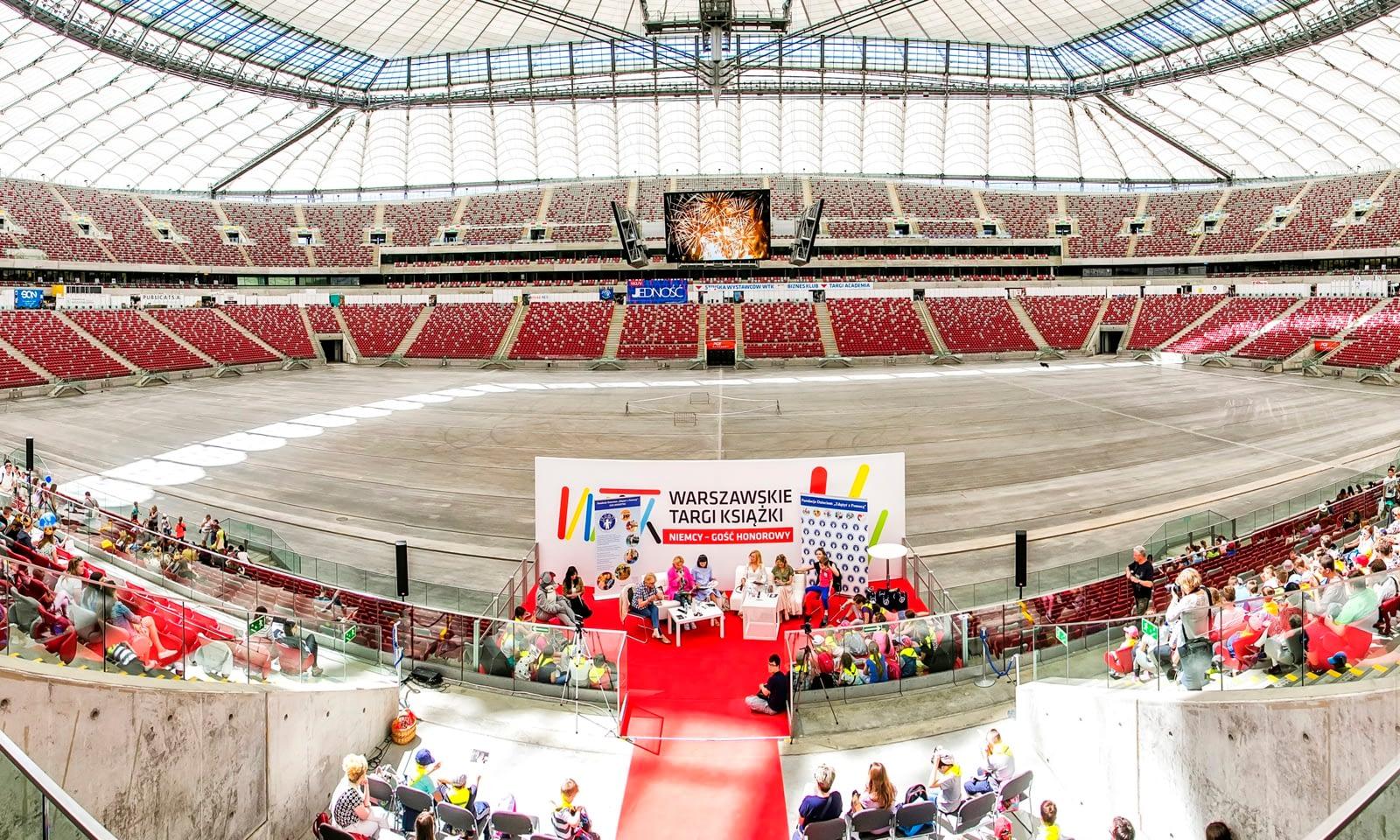 8. Warszawskie Targi Książki Stadion PGE Narodowy
