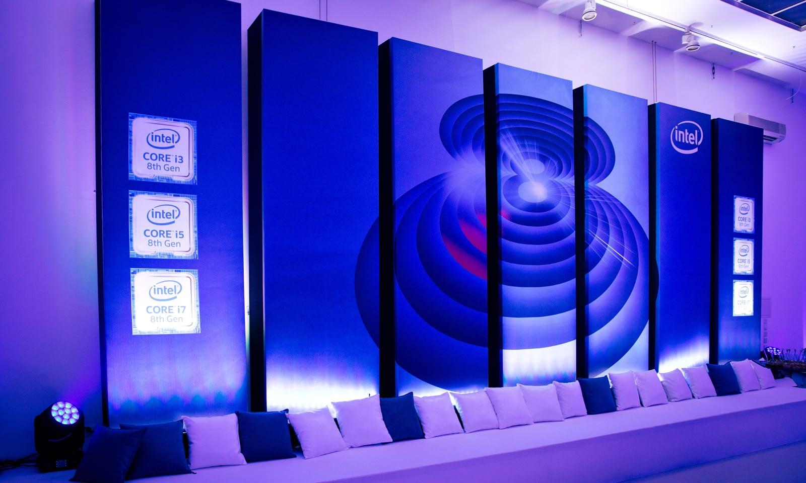 Premiera Intel Core 8 generacji - Brill AV Media obsługa techniczna eventów