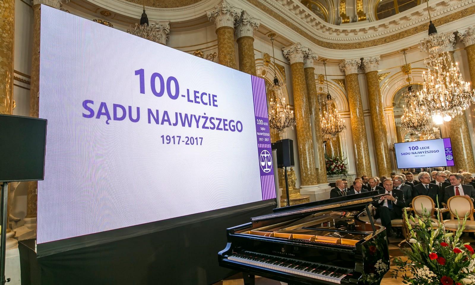 100-lecie Sądu Najwyższego na Zamku Królewskim