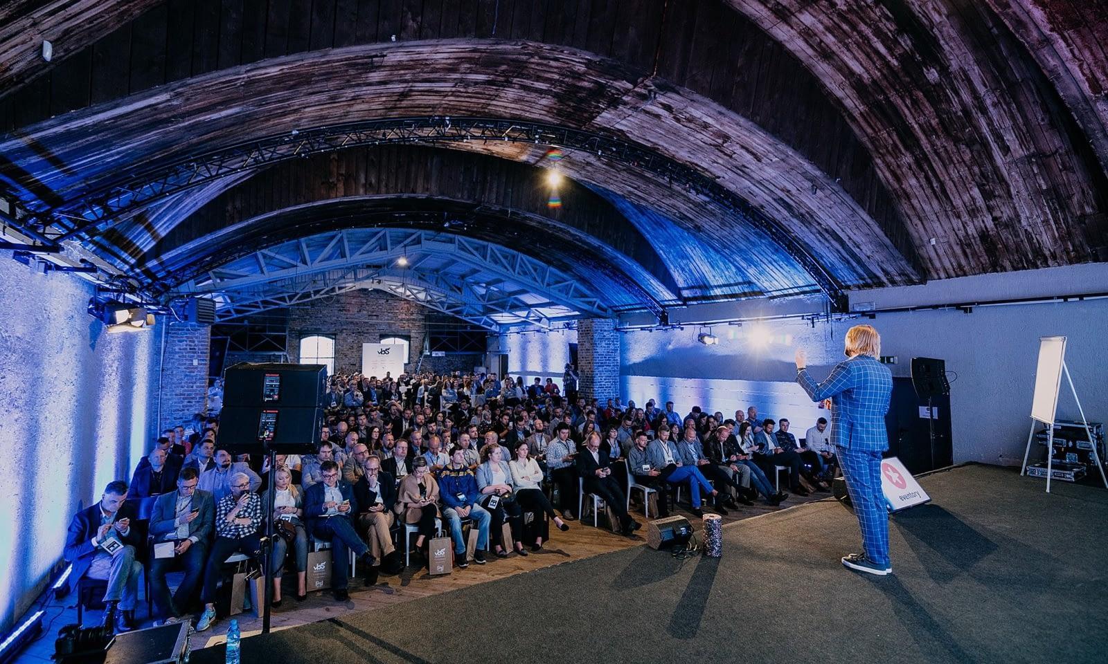 Konferencja Value Based Selling obsługa techniczna Brill AV Media