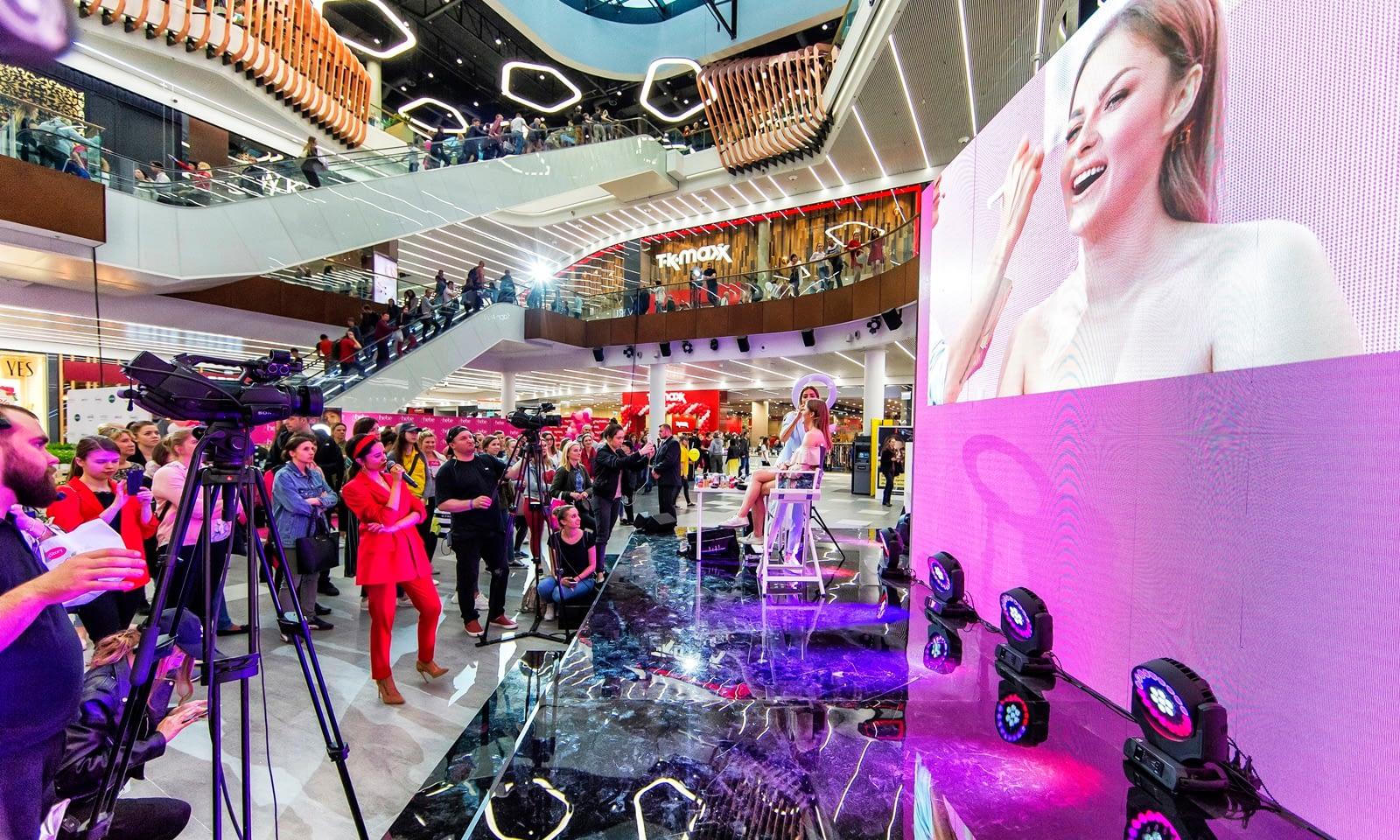 Otwarcie centrum handlowego Galeria Mlociny Brill AV Media